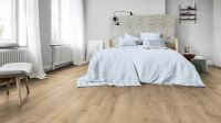 Vorschau: Tarkett Klebevinyl ID Inspiration 30 CLASSICS Rustic Oak Beige Schlafzimmer