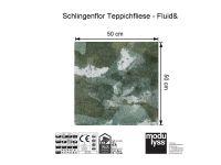 Vorschau: Modulyss Teppichfliese Fluid& 604 Maß