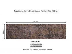 Girloon Teppichfliesen Switch Mo 014-740 selbsthaftend