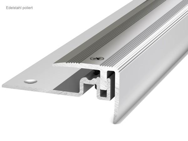 Prinz Treppenkantenprofil 420 Edelstahl poliert