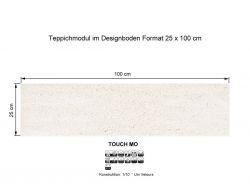 Girloon Teppichfliesen Touch Mo 811 selbsthaftend