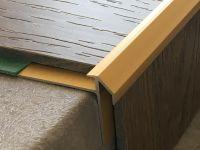 Treppenkantenprofil 492 gold