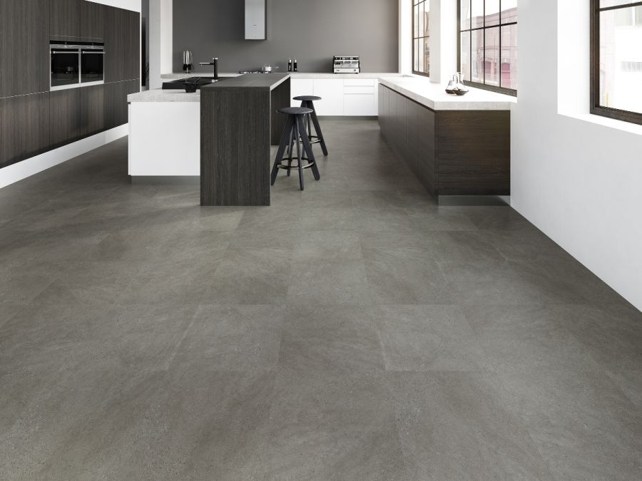 JOKA Klick Vinyl 4,5 mm Design 330 Dark Concrete