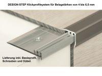 Vorschau: Treppenkantenprofil 330 Silber Klickprofil Aufbau