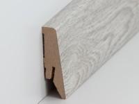 Vorschau: MDF Sockelleiste Modern Orinoco Eiche 18 x 58 x 2500 mm
