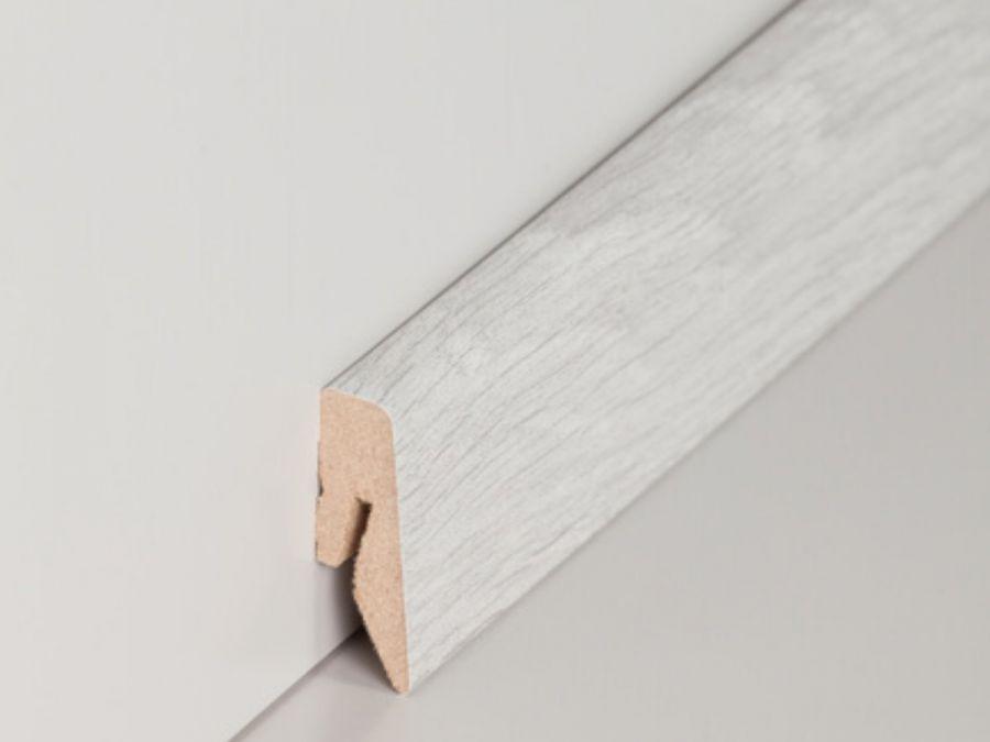 MDF Sockelleiste Modern Euphrat Eiche 15 x 40 mm
