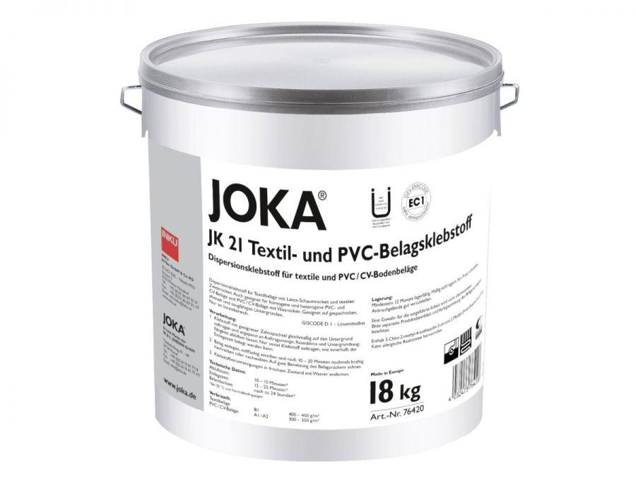 JOKA JK 21 Textil- und PVC-Belagsklebstoff 18 Kg