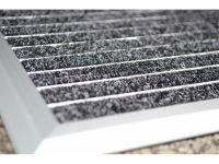 Vorschau: Alu-Fussmatte Exclusiv Mat Detailansicht