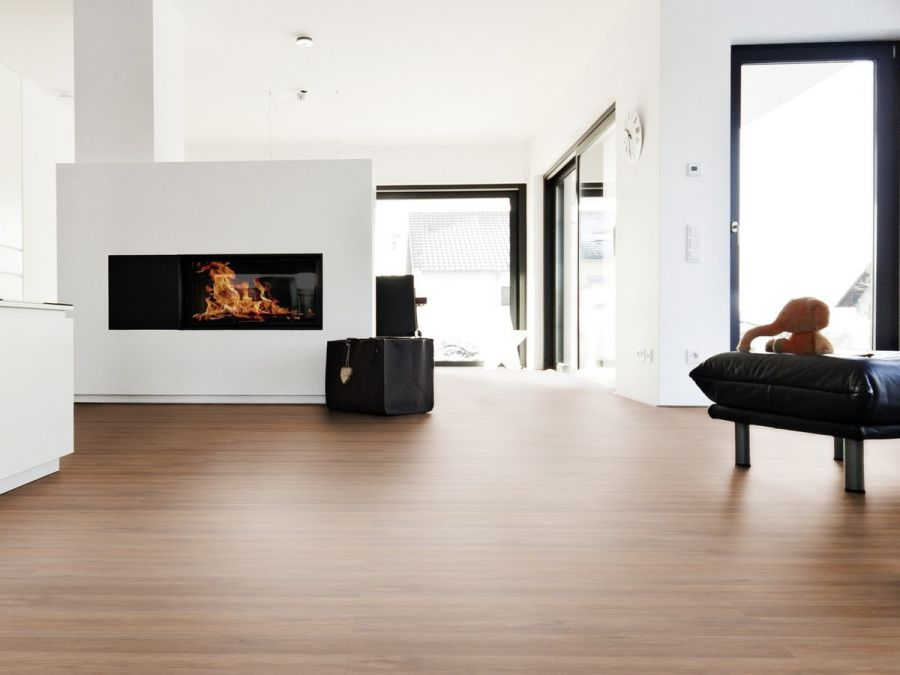 Vinylboden Landhausdiele Paris Oak brown