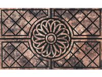 Gummimatte Eco Fashion Ornament Muster