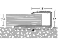Vorschau: Prinz Einschubprofil 250 Kirschbaum Maße
