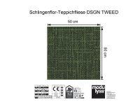 Vorschau: Modulyss Teppichfliese DSGN TWEED 695 Maß