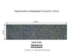 Girloon Teppichfliesen Vario Mo D4 380 selbsthaftend