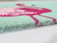 Vorschau: Kokosmatte Coco Style Flamingo Detailbild