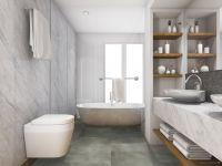 TFD Floortile Klebevinyl Style Stone Concrete 10 Badezimmer