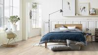 Vorschau: Tarkett Klebevinyl ID Essential 30 Soft Oak WHITE Schlafzimmer