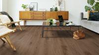 Tarkett Klickvinyl Starfloor Click Ultimate 55 Delicate Oak Brown Wohnzimmer