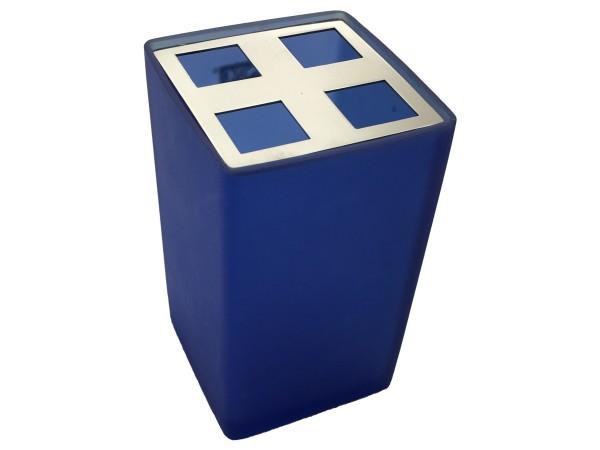 Zahnbürstenbecher Sorano blau