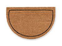 Kokosmatte Coco Smart halbrund Rahmen