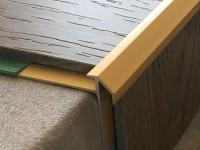 Vorschau: Treppenkantenprofil 492 gold