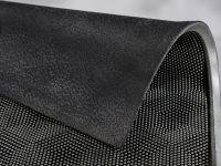 Vorschau: Gummimatte Honeycomb silber Detailansicht
