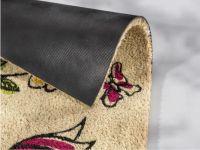 Vorschau: Kokosmatte Coco Style Blumen Detaibild