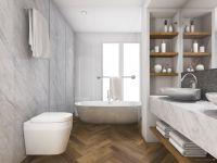 TFD Floortile Klebevinyl Ossi 3 Badezimmer