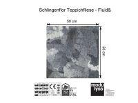 Vorschau: Modulyss Teppichfliese Fluid& 961 Maß