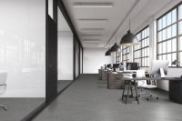 TFD Floortile Klebevinyl Woven L+ Herringbone 502 Büro