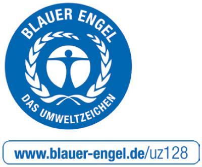 Zertifiziert mit dem Umweltlabel