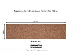 GIRLOON Teppichmodule PACIFIC MO 231 selbsthaftend