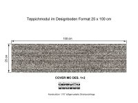 INFLOOR Teppichmodule COVER MO 001-720 selbsthaftend