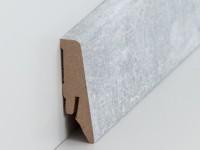 Vorschau: MDF Sockelleiste Modern Granit 15 x 40 x 2500 mm