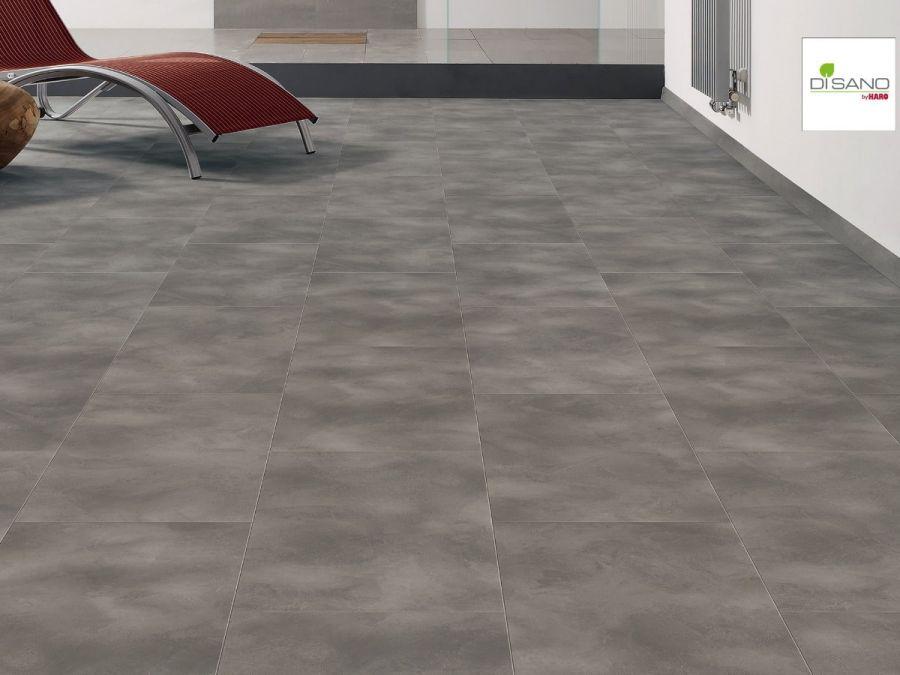 Klick Designboden Disano Smart Aqua Beton Grau