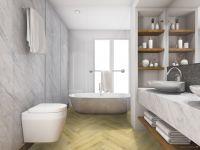 TFD Floortile Klebevinyl Ossi 4 Badezimmer