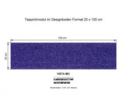 GIRLOON Teppichmodule VISTA MO 399 selbsthaftend