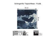 Vorschau: Modulyss Teppichfliese Fluid& 569 Maß