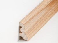 Holz Sockelleiste Klassisch Eiche 20 x 40 x 2500 mm