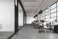 TFD Floortile Klebevinyl Woven L+ Herringbone 501 Büro