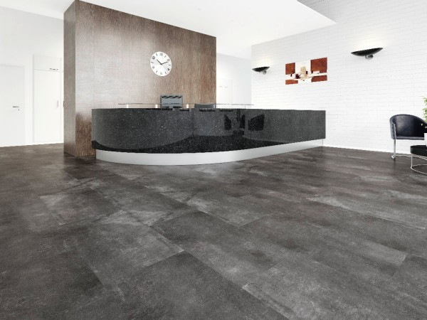 Vinylboden Design 555 Black Screed