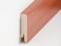 Holz Sockelleiste Cube Mahagoni 16 x 60 mm