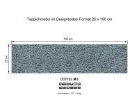 Infloor Teppichfliesen Cottel Mo 550 selbsthaftend