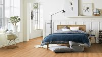 Tarkett Klebevinyl ID Inspiration 55 CLASSICS Rustic Oak Warm Natural Schlafzimmer