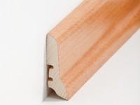 Holz Sockelleiste Klassisch Buche gedämpft 20 x 60 x 2500 mm