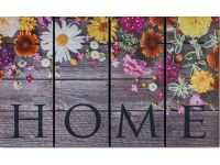 Gummimatte Eco Fashion Home Blumen