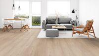 Vorschau: Tarkett Klebevinyl ID Essential 30 Soft Oak BEIGE Wohnzimmer