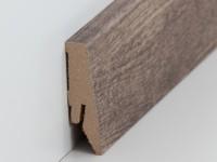 Vorschau: MDF Sockelleiste Modern Wolga Eiche 18 x 58 x 2500 mm