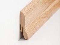 Vorschau: MDF Sockelleiste Klassisch Eiche 20 x 60 x 2500 mm
