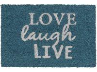 Kokosmatte Coco Glitter Love laugh Live