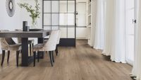 Tarkett Klebevinyl ID Essential 30 Soft Oak LIGHT GREY Esszimmer